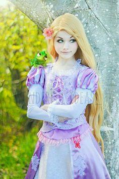 #rapunzel #enredados #cosplay