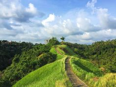 The road in the hills, Ubud, Bali, Indonesia