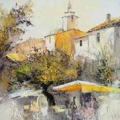 Peinture à l\' huile sur Toile au couteau de : Manuel RUBALO | I want ...