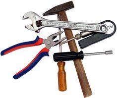 allemaal nieuw gereedschap wat meisjes ook kunnen gebruiken