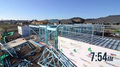 See how the Supaloc steel frame of our Havana One home was constructed in only five hours. Mcdonald Jones Homes, Steel Frame Construction, Home Board, First Home, Havana, The Cure, Frames, Backyard, Explore