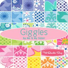Giggles Yardage Me & My Sister Designs for Moda Fabrics - Fat Quarter Shop