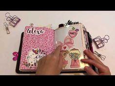 B6 Traveler's Notebook Flip Through: Valentine's Setup - YouTube