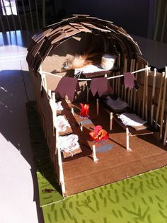 How To Make A Longhouse For A School Project School