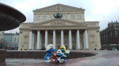 Pronti per il teatro Bolshoi - Mosca Marzo 2014
