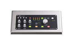 Steinberg UR28M USB Audio Interface: More than a 4-analog-input audio interface, the Steinberg UR28M is a powerful monitor controller, with dim/mono/mute buttons and three pairs of outputs.