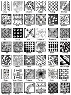 80 Best Zentangle patterns images in 2019