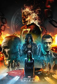 Fan poster of 'Marvel's: Agents Of S.H.I.E.L.D.'