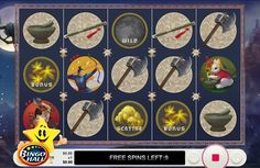 Packed with 5 reels and 13 paylines, the game is designed with 11 mythical symbols that are meant to help you win the battle!