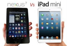 Nexus 7 and iPad mini are the two great iPads in the market these days. Both with their own ideal characteristics attract the users.