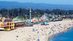 The Admission-Free Santa Cruz Beach Boardwalk! Enjoy warm sand, cool surf, hot rides and free entertainment at the only major seaside amusement park on the West Coast.