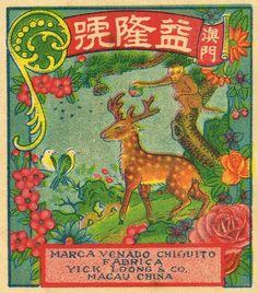 Little Deer C2 Firecracker Pack Label by Mr Brick Label on Flickr.