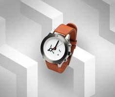 Modern and Classic mix in a beautiful watch.