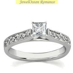 Diamond Engagement Rings Antique 54