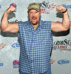 "The stereotypical ""redneck"" character Larry the Cable Guy"