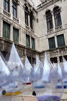 Installations all over Venice, ah Biennale! One day I would LOVE to witness it!!