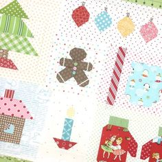 I thought I would tell you about something fun that I'm doing on Instagram. It's a little Christmas quilt sew along usi...