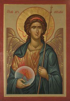 Religious Images, Religious Icons, Religious Art, Byzantine Icons, Byzantine Art, Icon Clothing, Faith Of Our Fathers, Orthodox Christianity, Archangel Michael