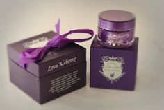 Love Alchemy's Love Lotion - An all natural lubricant that combines six exotic essential oils with the luxurious properties of shea butter. Each natural ingredient, sourced from around the globe, was specifically chosen for its unique properties. The result: a sensual product that heightens sensation, releases inhibitions and intensifies desire.
