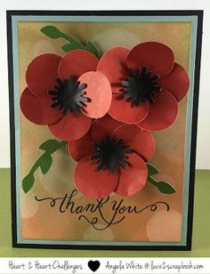 http://www.luvz2scrapbook.com: Say Thanks With Poppies