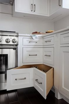 10 Healthy Cool Ideas: Condo Kitchen Remodel House farmhouse kitchen remodel before after.Affordable Kitchen Remodel Money kitchen remodel must haves decorating ideas. Kitchen Tops, Kitchen Redo, Kitchen Storage, Kitchen Ideas, Kitchen Designs, Kitchen Themes, Cabinet Storage, Kitchen Layout, Cabinet Doors