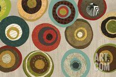Silver Flight of Fancy II Art Print by Jeni Lee at Art.com