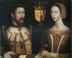 James V of Scotland and his wife, Marie de Guise. Parents of Mary, Queen of Scots.