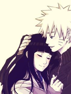 Naruto and Hinata make the cutest couple ever <3