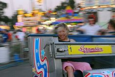 "County Fair....the Scrambler....yikes.....""Do You Want to Go Faster?"" by Paul Presnail :etsy:"