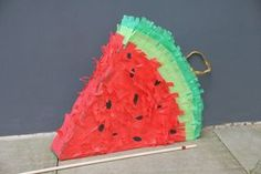 Pinata Bastelanleitung   DIY   melon pinata