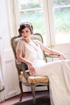 Lowcountry Weddings - William Aiken House - Justina Bilodeau Photography - Jenny Packham - Rosefire Jewelry - Charleston Wedidngs