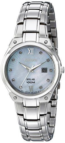 Seiko Women's SUT213 Solar Silver-Tone Stainless Steel Watch https://www.carrywatches.com/product/seiko-womens-sut213-solar-silver-tone-stainless-steel-watch/ Seiko Women's SUT213 Solar Silver-Tone Stainless Steel Watch  #diamondwatchesforwomen More diamond watches : https://www.carrywatches.com/tag/diamond-watches/
