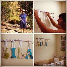 Woodland nursery letters - love this idea! Description from pinterest.com. I searched for this on bing.com/images