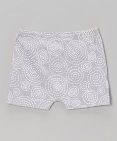 Take a look at this Silver Swirl Pocket Shorts by Little Giraffe on #zulily today!