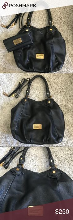 Marc By Marc Jacobs bundle Purse and wallet bundle Marc By Marc Jacobs classic q Fran bag Marc By Marc Jacobs classic q continental wallet Marc By Marc Jacobs Bags Shoulder Bags