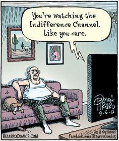 Canal de televisión para indiferentes... http://2ba.by/13p2a