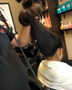 Hair Curling Techniques, Hair Curling Tips, Curl Hair With Straightener, Easy Curled Hairstyles, Spring Hairstyles, Hair Affair, Hair Videos, Gorgeous Hair, Hair Hacks
