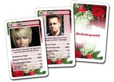 Das Hochzeit-Quartett von meinKartenspiel.de