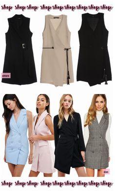 Tô desejando: Tuxedo dress! - Fashionismo