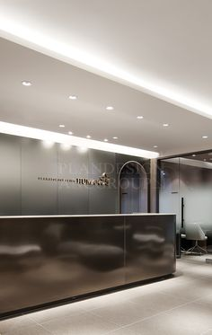 Office Reception Design, Work Office Design, Dental Office Design, Modern Office Design, Office Interior Design, Office Interiors, Modern Offices, Lobby Reception, Houses