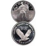 Silver 1 Oz Rounds Franklin Mint, Hamilton Mint and Other Private Mints (1 to 20 pcs.) $3.00 Bullion Trading LLC is proud to offer freshly minted, beautifully struck, one-ounce Silver Rounds. T.. $23.44
