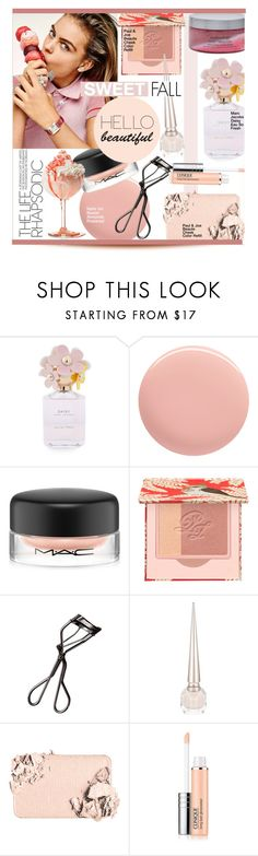 """""""Sweet Fall"""" by kusja ❤ liked on Polyvore featuring beauty, Marc Jacobs, Nails Inc., MAC Cosmetics, Paul & Joe, Shiseido, Christian Louboutin, Too Faced Cosmetics, Clinique and Bodycology"""