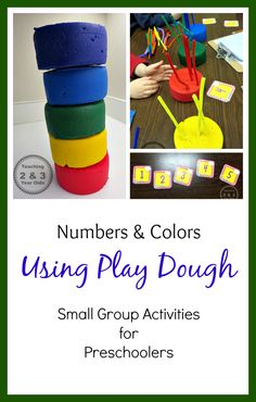 Teaching young children how to count and recognize colors from Teaching 2 and 3 Year Olds