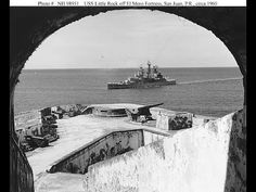Crucero USS Newport News navegando frente al El Morro Uss Newport News, Puerto Rico Usa, Puerto Rico History, Places Of Interest, Puerto Ricans, Beautiful Islands, Old Pictures, Places To See, Youtube