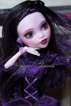 Monster High Elissabat Commission by Raquel Clemente / deliciouslyforbidden