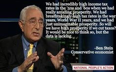 When they can't even convince a hard-line conservative tight ass like Ben Stein ... well ... what else do you have to say??