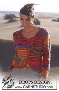 Ravelry: 95-11 Cardigan in Inka pattern by DROPS design