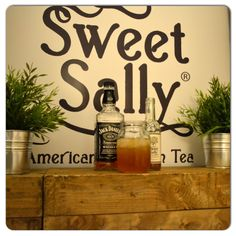 12 Days of Sweet Sally TeaCocktails � Day 2 An interesting yet tasty teacocktail! 'Sweet Sally Jack' 3 parts Sweet Sally Spiced Tea 1 part of your favourite bourbon Shake well and serve in whiskey tumbler or a good old southern mason jar!