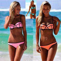 Sexy Summer Low Cut Women Bikini Fashion Swimwear FREE SHIPPING