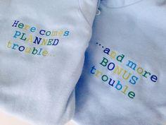Cute baby boy slogan twin set www.millymollymorley.co.uk